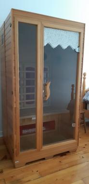 Infra red sauna